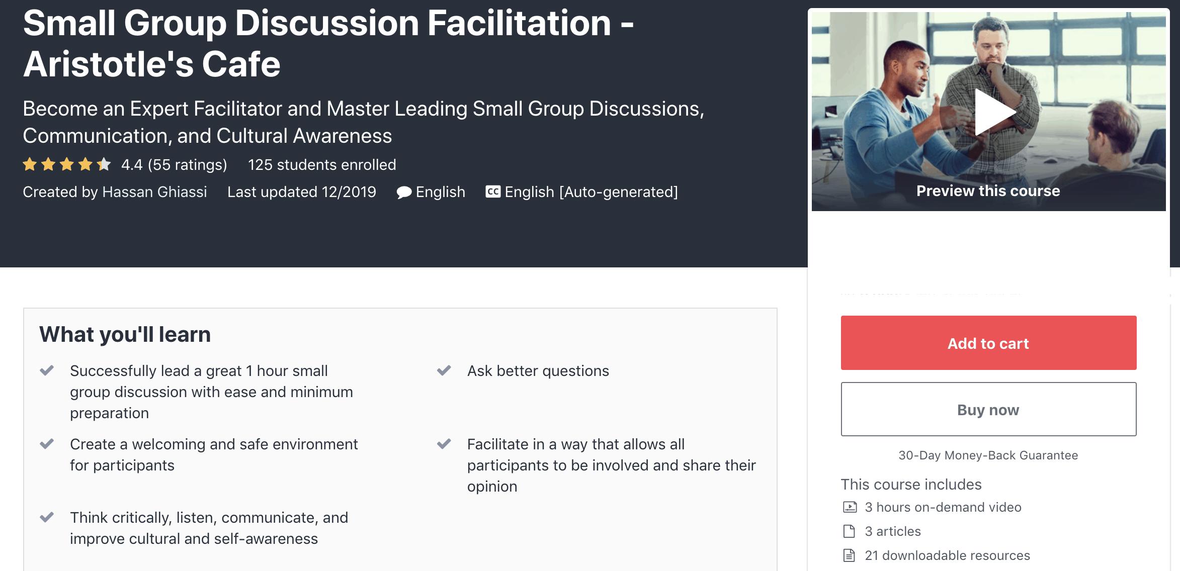 facilitator-training